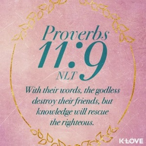 knowledge will rescue the righteous