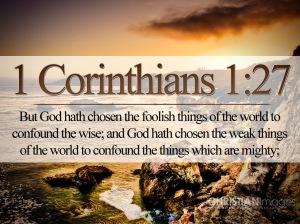 I Corinthians 1 27 (1)