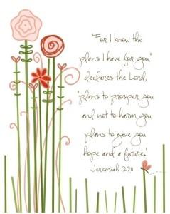 Jeremiah 29 11 2
