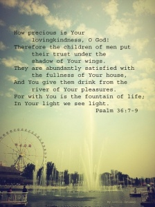 Psalm 36 7