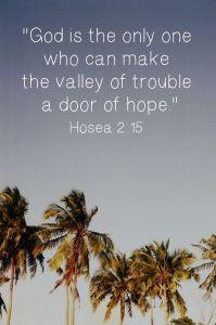 Hosea 2 15